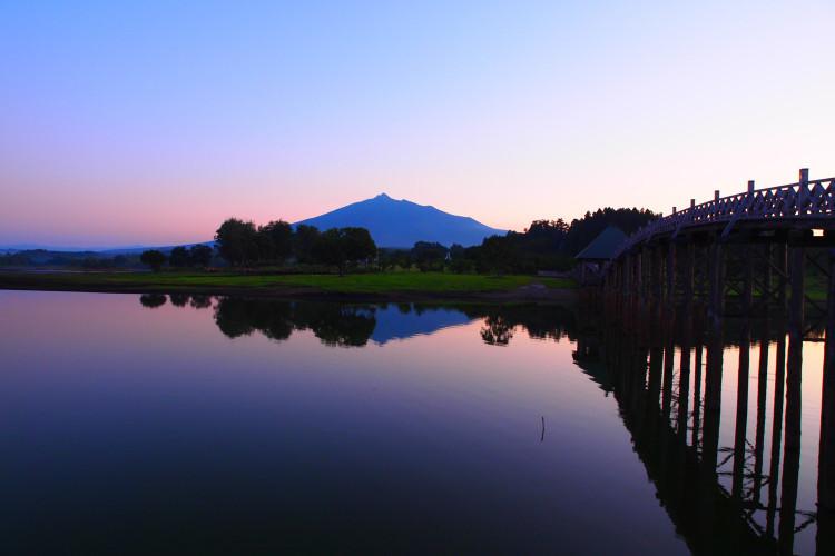 去往鹤之舞桥·津轻富士见湖的方法