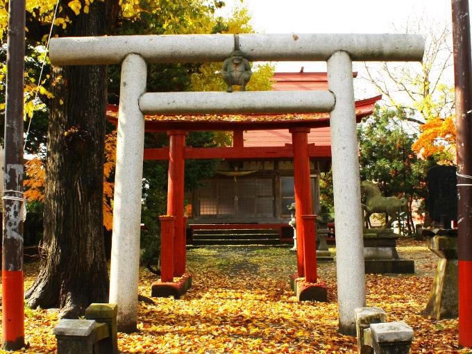 暗靇神社(冲)