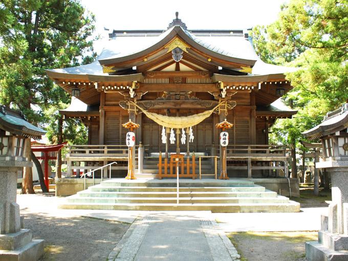 八幡宫(鹤田)