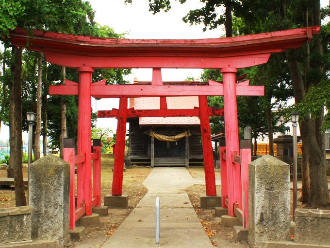 暗靇神社(山道)