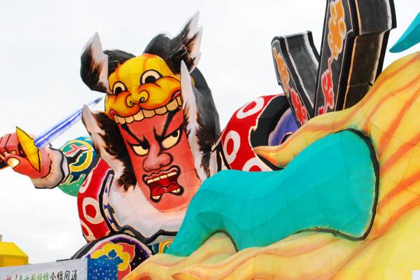 【水和火的祭典 鹤田节】的Nebuta运行